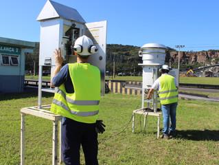 SCPar Porto de Imbituba monitora qualidade do ar na área portuária