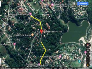 Obra na via que dá acesso à Praia do Rosaserá iniciada nos próximos dias