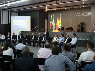 ACIM participa de reunião sobre expansão da malha ferroviária catarinense