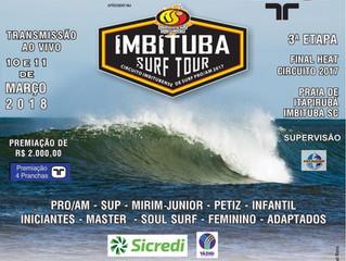 Imbituba Surf Tour: Decisão será no próximo final de semana