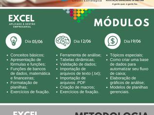 ACIM terá curso prático de Excel aplicado à Gestão Empresarial