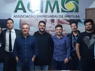 ACIM Jovem realiza mentoria com empresário José Roberto Martins