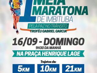 Turismo e esporte: Meia maratona de Imbitubaalia competição e belezas naturais num só lugar