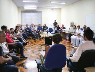 SCPAR Porto de Imbituba realiza reunião para esclarecer comunidade sobre medidas preventivas contra