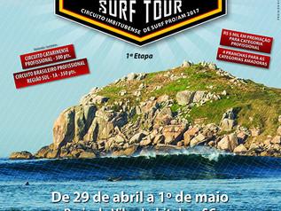 Praia da Vila recebe etapas do Circuito Brasileiro Profissional e Circuito Imbitubense Pro/Am 2017