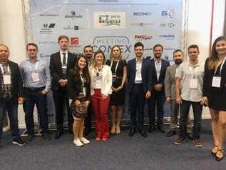 ACIM Comex participa de encontro sobre sobre comércio internacional em Joinville
