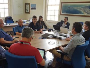 Empresários fazem visita a nova diretoria da SCPar Porto de Imbituba