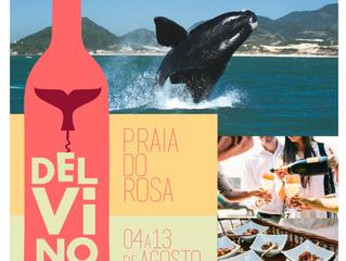 Del Vino terá vinhos de vários países em clima de serra na praia