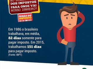 Imbituba terá Feirão do Imposto dia 21 de maio