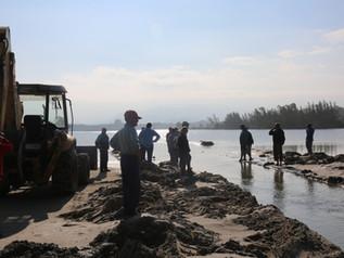 Canal da Barra de Ibiraquera: abertura depende do aumento no volume de água