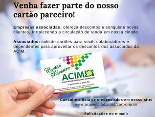 Cartão Parceiro ACIM: o cartão de descontos entre associados