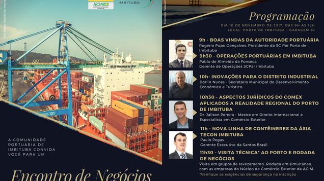 Empresários preparam Encontro de Negócios no Porto de Imbituba