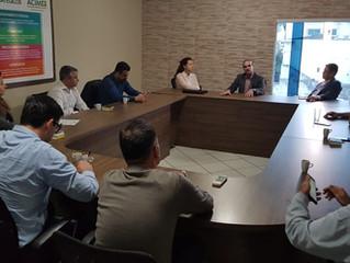 ACIM Comex recebe visita de diretores da SCPar sobre ZPE
