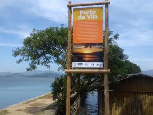 Placas são instaladas em Imbituba para orientar os turistas
