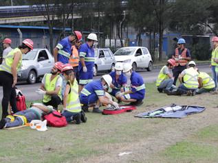 Porto de Imbituba realiza simulado de emergência do PAM