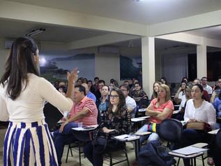 Palestra sobre a reforma trabalhista reúne mais de 80 pessoas