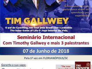 Seminário The Inner Game, com Tim Gallwey: desconto até 7/5