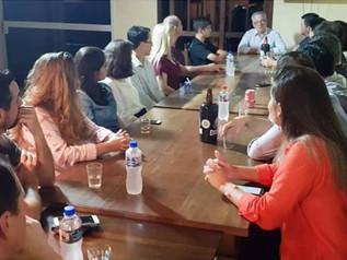 ACIM Comex realiza jantar de negócios com Gilberto Barreto