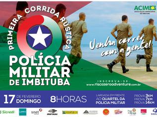 1ª Corrida Rústica da Polícia Militar de Imbituba é dia 17