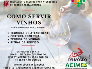 Curso técnico sobre como servir vinhos é na próxima quinta (28)