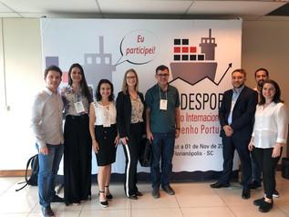 Profissionais do Porto de Imbituba apresentam trabalhos técnico-acadêmicos no Congresso Internaciona
