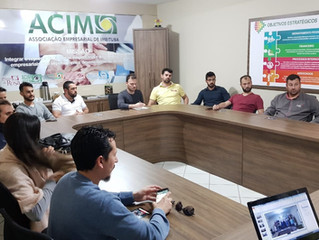 ACIM Jovem participa de mentoria com Carlos Silva da SNET Telecom