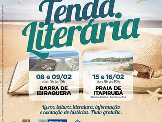 Tenda Literária irá movimentar a Barra de Ibiraquera