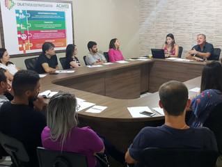 ACIM Jovem participa de mentoria com empresário Manoel Ferreira