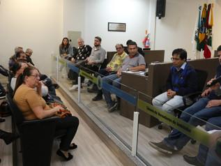 Reunião discute a situação dos comerciantes dos Boxes do Terminal Urbano de Passageiros de Imbituba