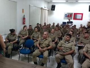 Turismo e Segurança Pública são debatidos durante curso de radiopatrulhamento para policiais militar