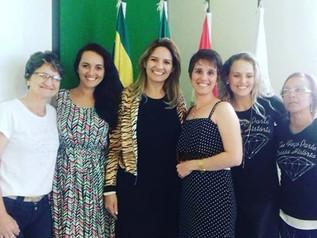 ACIM Mulher participa de seminário e workshop em Lages