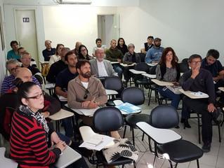 """Imbituba participa de palestra """"Como Fazer um Plano de Mobilidade"""""""
