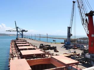 Exportação de milho bate recorde no Porto de Imbituba