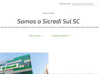 Cooperativa Sicredi Sul SC disponibiliza novo espaço virtual para associados da região