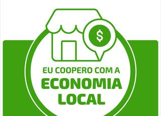 ACIM apoia movimento lançado pela  Sicredi em prol da economia local