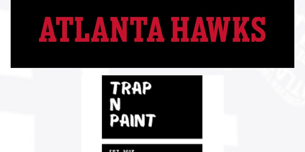 Trap n Paint Night at State Farm Arena