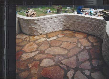 Patio with Stones