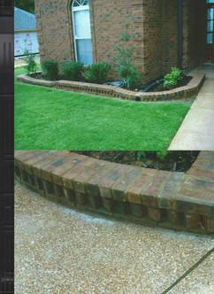 Sidewalk and Decorative Stone