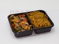 Chicken in Black Bean Sauce with Noodles