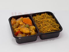Sweet and Sour Chickenwith Noodles