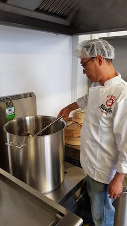 Sauce Making Process