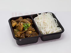 Braised Beef Briskets with Rice ThreadNoodles