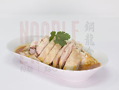 Steamed Chicken in Spicy Sichuan Chilli Sauce