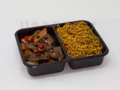 Beef in Black Bean Saucewith Noodles