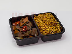 Beef in Black Bean Sauce with Noodles