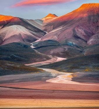 desert de dali en Bolivie sud-lipez