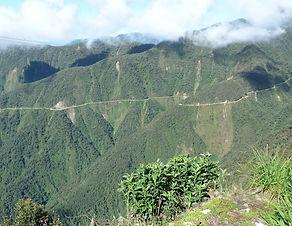 Route de la mort yungas Coroico