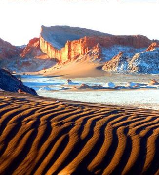 Vallée de la lune désert Atacama