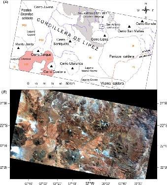 carte du sud-Lipez en Bolivie