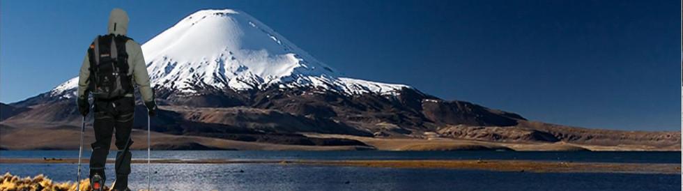 Volcan Parinacota en Bolivie